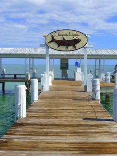 Stroll down Cheeca Lodge's 525-foot wooden fishing pier
