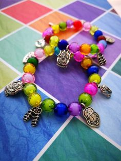 These are my children's Armour of God bracelets. They make such precious little gifts for little hearts! You can get yours today for R50 each, they come with their Armour of God verse in the gift bag as well.  #armourofgod #eph6 #women #strength #bible #faithfulcreationsbyck #christian #childrens jewellery #christianjewellery #christianjewelry #kiddiesbracelet #armorofgod