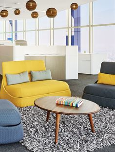 Spaces designed for social interactions can help stimulate the brain and improve creativity.