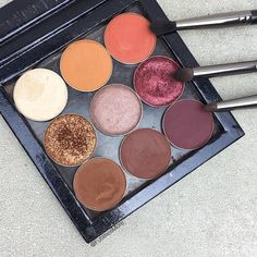 Best Fall Eyeshadow palette from Makeup Geek