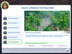 "marlynsims: "" The Sims 4 Scenic Photographer Career! So, you want to be a photographer, you have realised your calling. However, when you took pictures of people and animals and events, it just didn't..."