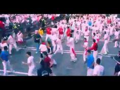 La Curva de la Muerte Jandilla, Encierro 7 de julio [AMATEUR VIDEO]