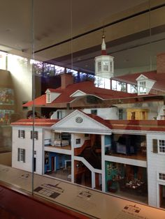 This a model of the mt Vernon it was so cool
