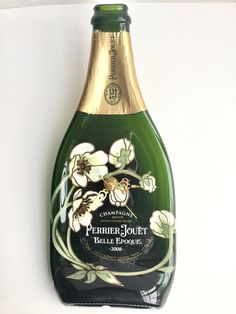 Perrier Jouet 2008 Belle Époque  champagne bottle clock by causewaybay on Etsy