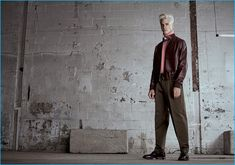 Oliver Stummvoll stands tall in Paul Smith for Simons