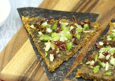 Raw pizza crust recipe | The Rawtarian