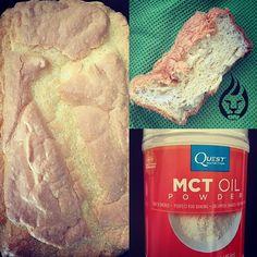"MCT Oil powder ""bread"""