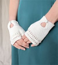 Learn how to knit fingerless gloves with this fun knitting pattern.