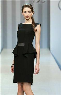 CHANEL Haute Couture Classic Little Black Dress Size 2-XS-S-40 ...