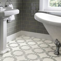 Bathroom Tiles John Lewis parquet charcoal bathroom- linoleum tiles! | for the home