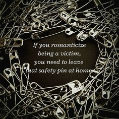 Instaburn. Amateur photography. #safetypin #quotes