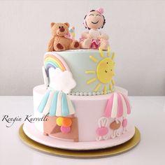 1 Yaş Doğum Günü Pastası / 1st Birthday Cake