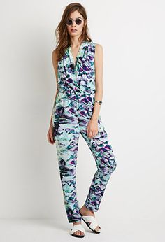 Abstract Print Jumpsuit | Forever 21 - 2000134206