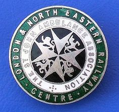 St. John Ambulance Association - London & North Eastern Railway Centre badge (1920's - 1940's) by RETRO STU, via Flickr