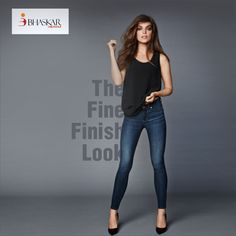 Our finishes help you with the best output. #Fine #finish #Denim #fabric #BhaskarDenims
