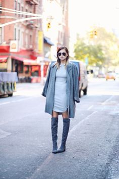 How to Wear Over-the-Knee Boots With Anything This Fall | StyleCaster