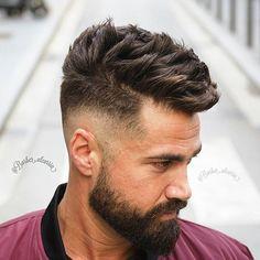 Hair and beard. Styling.  Model: @alanmainster  Photography & Hairdresser: @alcarria24, @barber.alcarria ◽◽◽◽◽◽◽◽◽◽◽◽◽◽◽◽◽◽◽◽◽◽◽◽◽◽◽◽◽◽◽◽◽◽◽◽◽◽ # #Barceloneta #Barcelona #Haircut #Hairstyle #Wahl #WahlSpain #Barbershopconnect #Thebarberpost #Nastybarbers #Internationalbarbers #Showcasebarbers #Rcde #Cornella #Hairstylemen #Hairmenstyle #Barcelonahairstyles #Sharpfade #Barberworld #Barberskills #Freshfactoybarbershop #Barbersinctv #Barberlove #Barbersoul #Fashiorismo #Guyshair #Barbershop