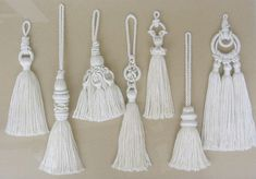 A variety of tassel designs - by Carol Blackburn
