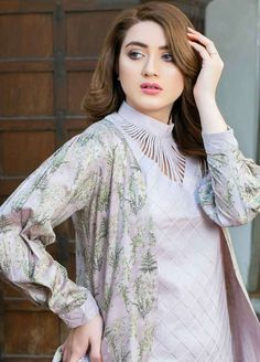 Best 12 Five Star Printed Lawn Unstitched 3 Piece Suit – Spring / Summer Collection – SkillOfKing. Blouse Back Neck Designs, Neck Designs For Suits, Neckline Designs, Blouse Neck, Blouse Designs, Pakistani Fashion Casual, Pakistani Dresses Casual, Pakistani Dress Design, Pakistani Bridal