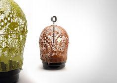 Seraphine birdcage by Georgios Maridakis