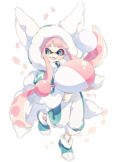 Nintendo Splatoon, Splatoon 2 Art, Splatoon Comics, Lolis Neko, Anime Girl Neko, The Legend Of Zelda, Kingdom Hearts, Final Fantasy, Illustration Kawaii