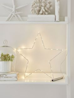LED Silhouette Star