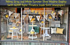 http://www.serendipityrefined.com/ Summer Store front display window