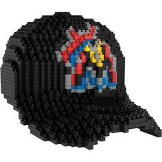 Miami Marlins MLB 3D BRXLZ Construction Puzzle Set Baseball Cap - (PRE-ORDER - SHIPS APRIL 12)