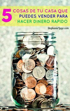 5 Cosas que puedes vender y Hacer Dinero Rápido - Stephanie Lugo Savings Plan, Frugal Tips, Blog Tips, Money Management, Ecommerce Hosting, Money Tips, Business Planning, Saving Money, Digital Marketing