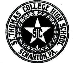 St. Thomas High School seal, 1925