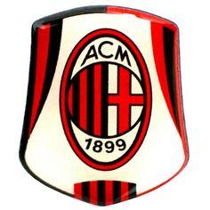 AC Milan Fc cresta Pin Logo distintivo Club cresta dettaglio rosso nero bianco