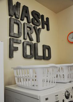wash dry fold wallboard laundry rooms 10 Best Solutions Of Laundry Room Decor