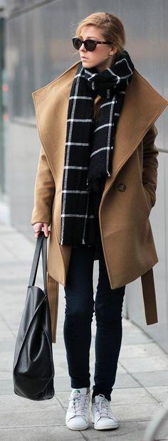 Wide Lapel Coat by Sirma Markova