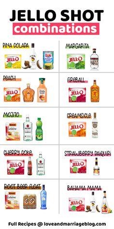 Best Jello Shots, Jello Pudding Shots, Summer Jello Shots, Yummy Shots, Fun Shots, Bachelorette Jello Shots, Fruit Jello Shots, Wine Jello Shots, Alcohol Jello Shots