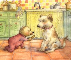 Hush Little Baby - Petra Brown, Children's Book Illustrator