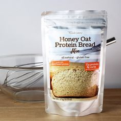 Small but mighty! Our gluten-free Honey Oat Protein Bread is slightly more dense than traditional whole-grain bread, and a bit shorter in height. Slice it thin to make a small sandwich, or enjoy a thi