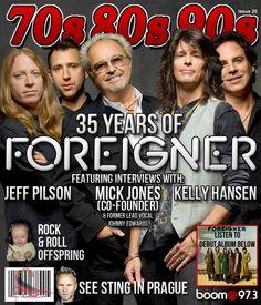 I absolutely ADORE the current Foreigner line-up! @Tom Gimbel, @Kelly Hansen, @Mick Jones, @Jeff Pilson, @Foreigner