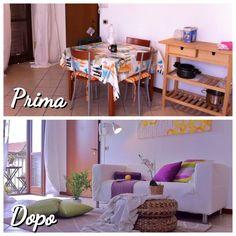 Allestimento Arianna Leva powered by Staged Homes - camera da pranzo e salotto - living room