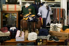 Ralph Lauren Rugby Store Styling