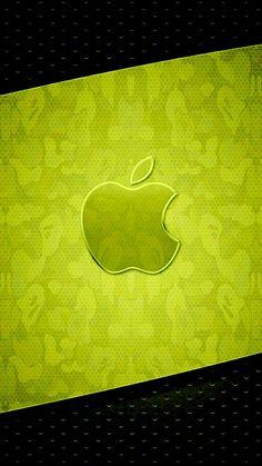 Apple Iphone Wallpaper Hd, Abstract Iphone Wallpaper, Iphone Wallpapers, Apple Ipad, Backdrops, My Favorite Things, Logos, Green, Beautiful