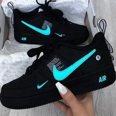 Original Nike Air Force Shoes - picture for you Vans Sneakers, Custom Sneakers, Custom Shoes, Sneakers Fashion, Nike Fashion, Fashion Shoes, Sneakers Style, Fashion Outfits, Casual Sneakers