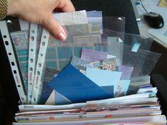 Scrapbook Organization And Storage | Scrapbooking Layout Inspiration: A Scrapbooking Storage Solution ...