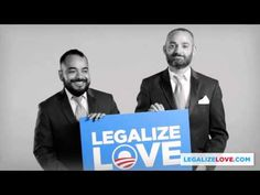"Share the video & campaign your heart out in 2012 with FREE Obama ""Legalize Love"" bumper stickers @ http://LegalizeLove.com . Our goal: 100,000 free bumper s..."