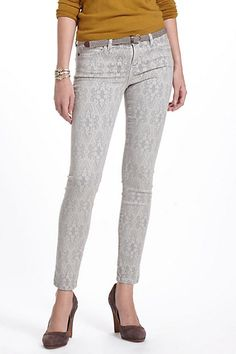 Current/Elliott The Ankle Lace Skinny #anthropologie