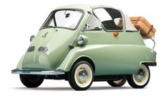 A BMW Isetta 'Bubble Window' Cabrio, made in Munich, Germany, 1956, one of the 50 produced