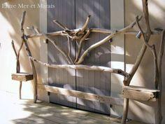 Têtes de lit en bois flotté - Entre Mer et Marais ~ Créations en bois flotté