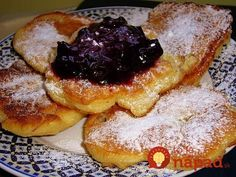 Griddle Cakes, What To Cook, Food Design, Pancakes, French Toast, Food And Drink, Appetizers, Vegetarian, Sweets