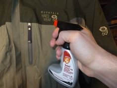 Re-waterproof your rain jacket. | 23 Simple And Essential Hiking Hacks