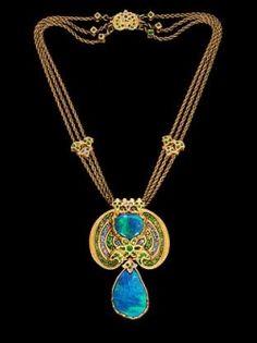 Opal Necklace #OpalJewelry