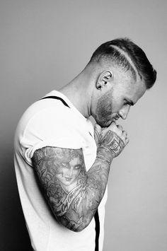 Men haircut MK